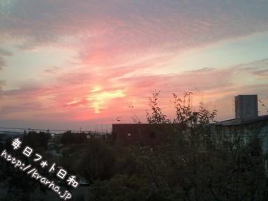 F1000632 384x288 なんとなく夕日を撮ってみた。
