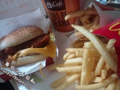 F1000650 384x288 最近ハンバーガーばっかり食べてます…。