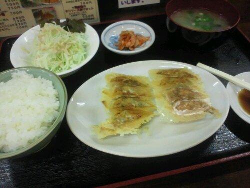 wpid DSC 0391 一直ラーメンの餃子定食